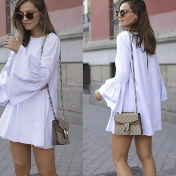 2fe7ffa3 Zara Frilled Poplin Jumpsuit Dress. M_5bdcae0661974578e96df571